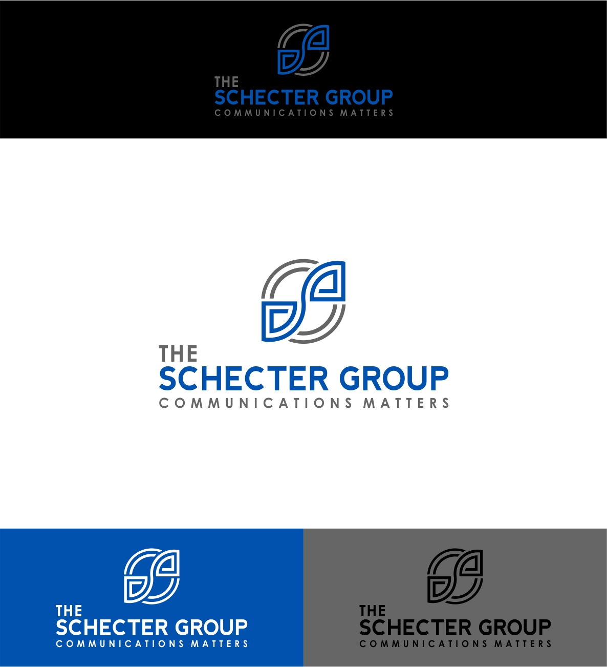 Logo Design by haidu - Entry No. 58 in the Logo Design Contest Inspiring Logo Design for The Schecter Group.