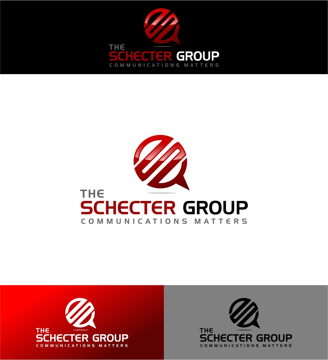 Logo Design by haidu - Entry No. 59 in the Logo Design Contest Inspiring Logo Design for The Schecter Group.