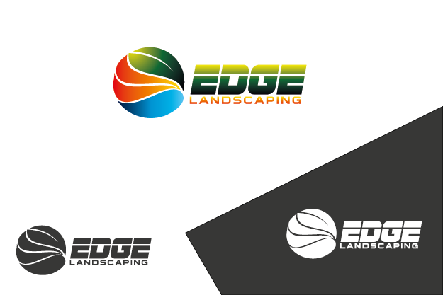 Logo Design by Private User - Entry No. 149 in the Logo Design Contest Inspiring Logo Design for Edge Landscaping.