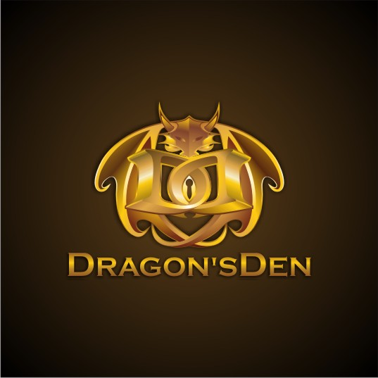 Logo Design by njleqytouch - Entry No. 85 in the Logo Design Contest The Dragons' Den needs a new logo.