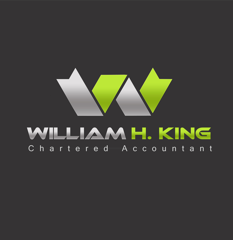 Logo Design by ahmed_nofal - Entry No. 73 in the Logo Design Contest New Logo Design for William H. King, Chartered Accountant.