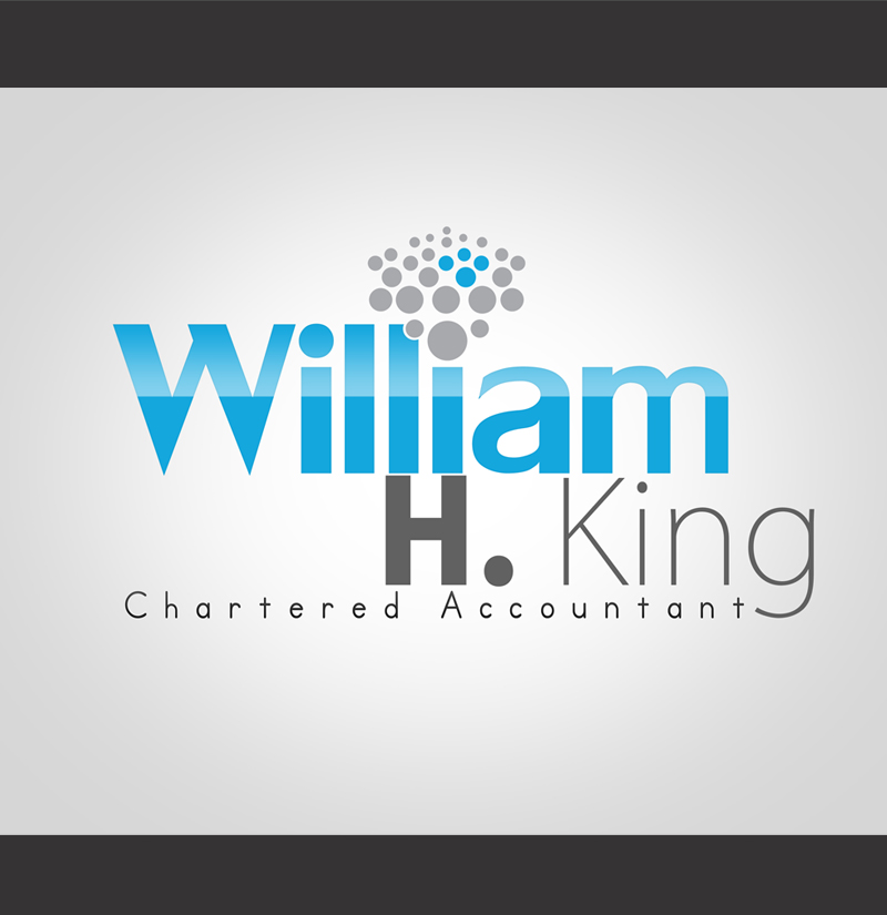 Logo Design by ahmed_nofal - Entry No. 74 in the Logo Design Contest New Logo Design for William H. King, Chartered Accountant.