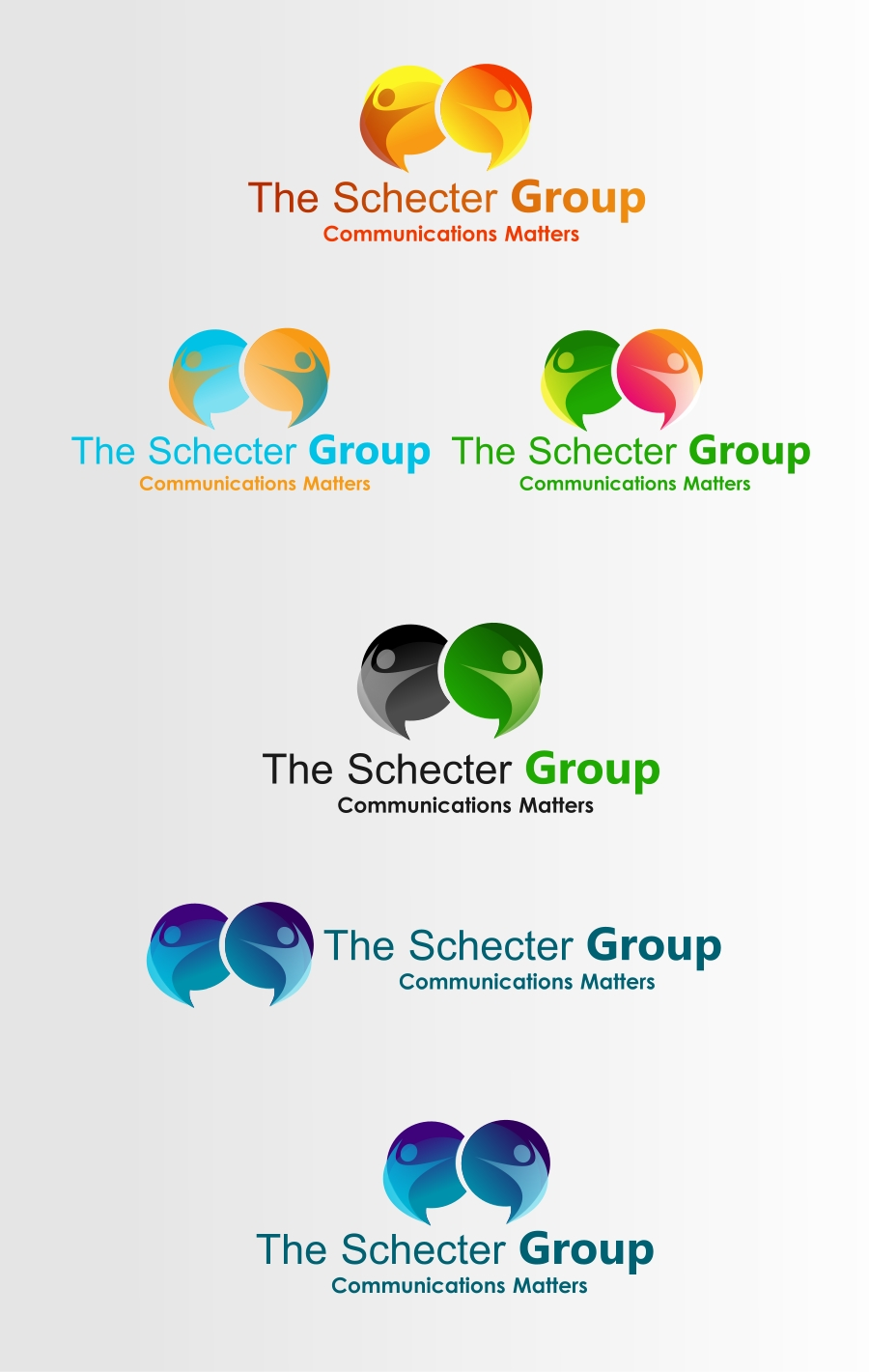 Logo Design by Private User - Entry No. 61 in the Logo Design Contest Inspiring Logo Design for The Schecter Group.