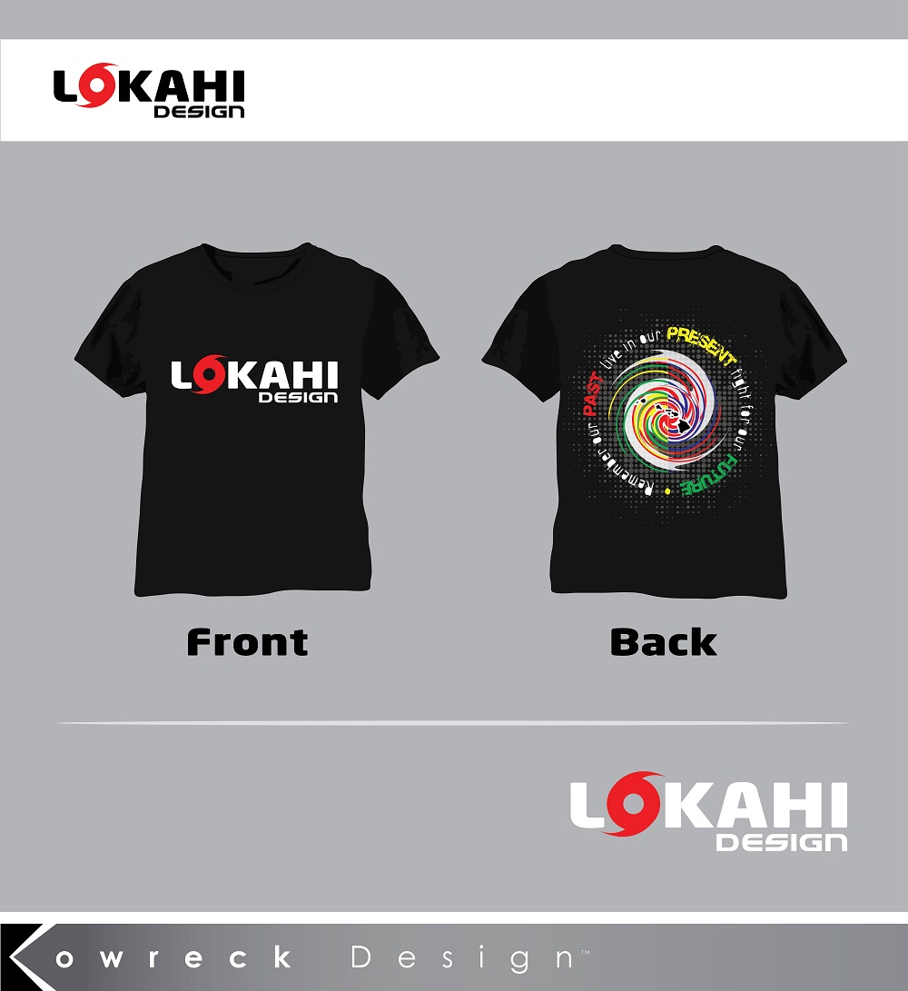 Clothing Design by kowreck - Entry No. 12 in the Clothing Design Contest Creative Clothing Design for LOKAHI designs.