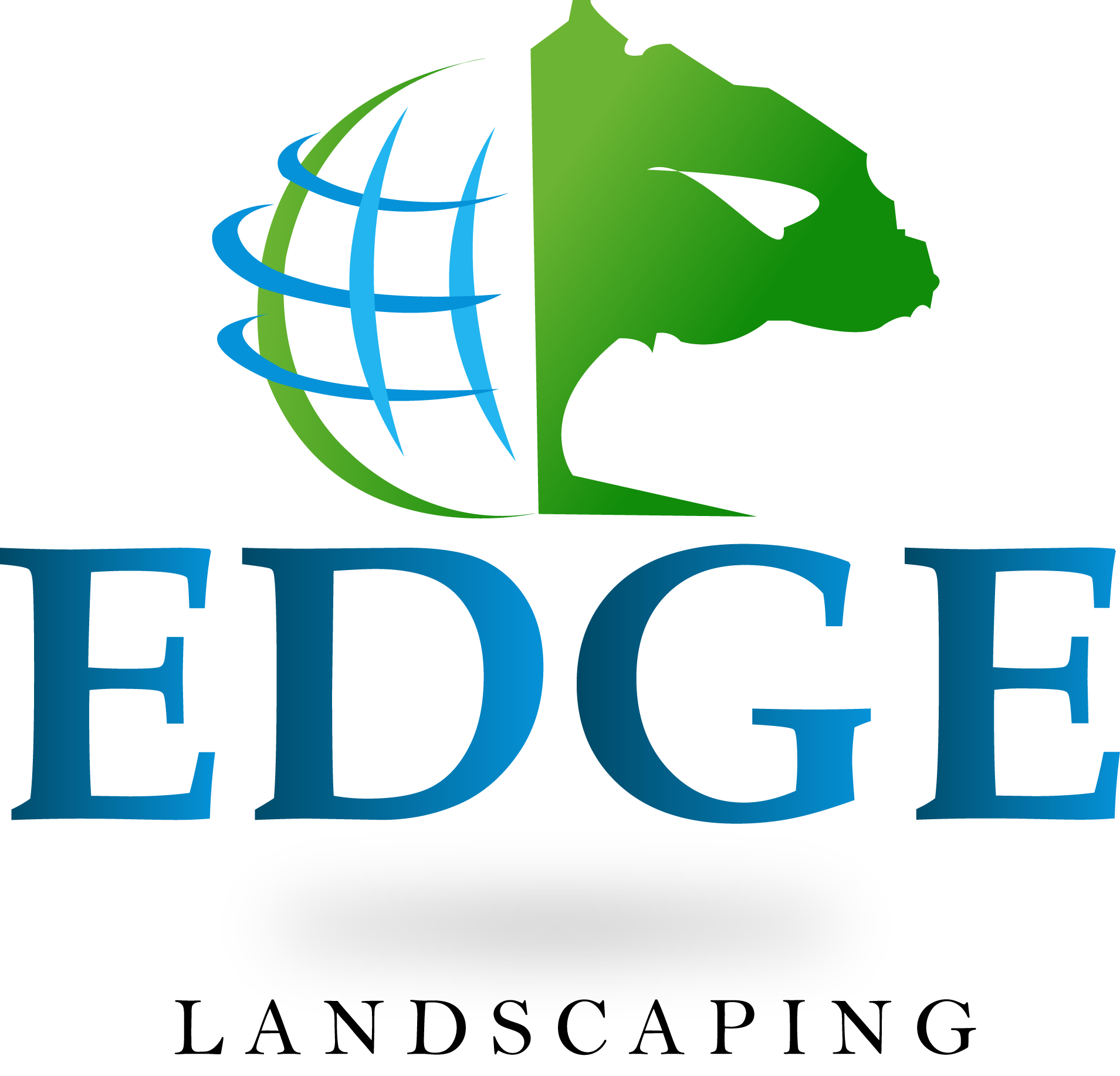 Logo Design by Saqib Hashmi - Entry No. 163 in the Logo Design Contest Inspiring Logo Design for Edge Landscaping.