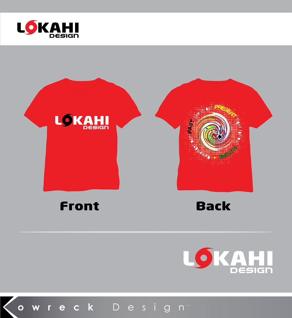 Clothing Design by kowreck - Entry No. 14 in the Clothing Design Contest Creative Clothing Design for LOKAHI designs.