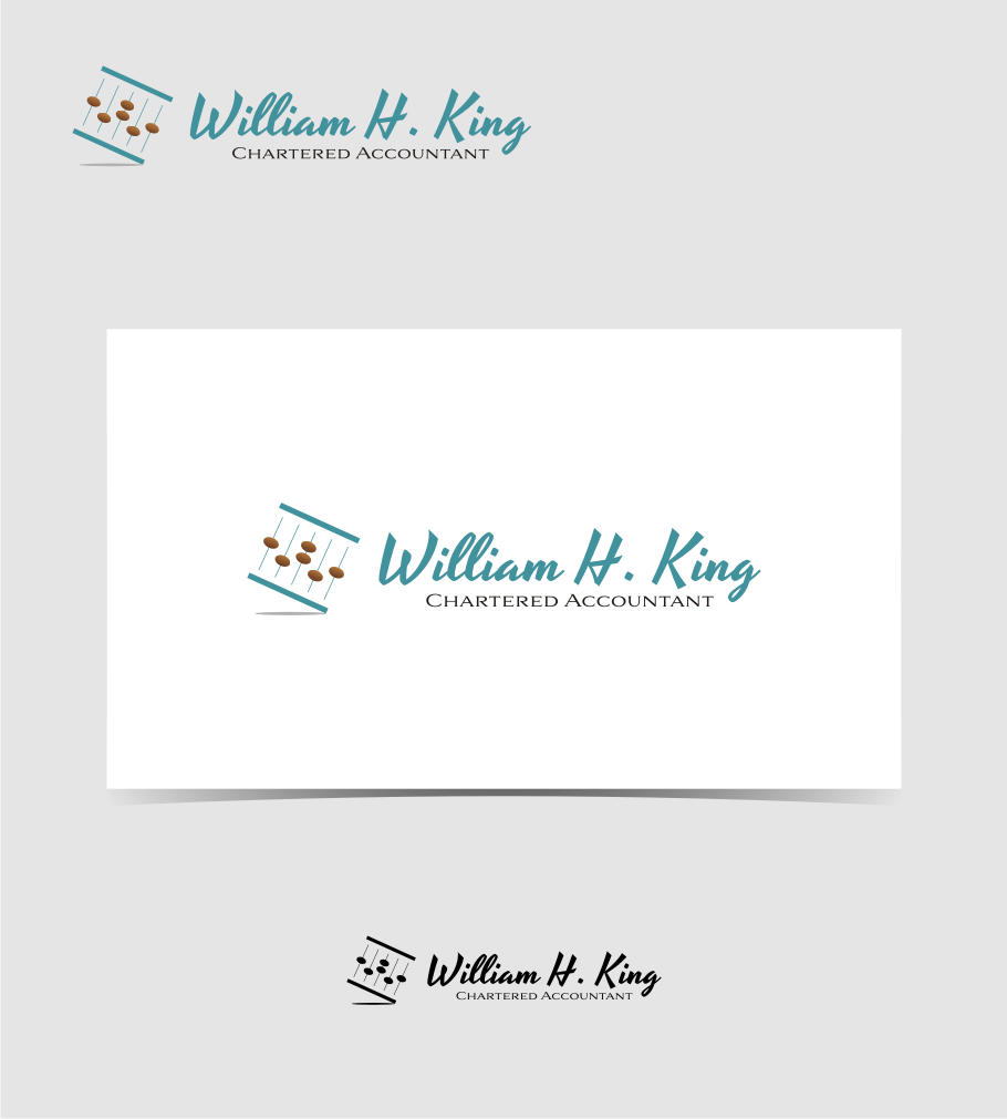 Logo Design by graphicleaf - Entry No. 79 in the Logo Design Contest New Logo Design for William H. King, Chartered Accountant.