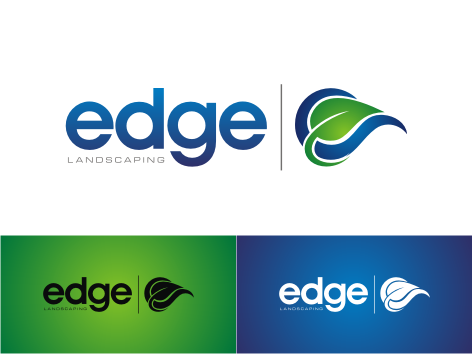 Logo Design by key - Entry No. 165 in the Logo Design Contest Inspiring Logo Design for Edge Landscaping.