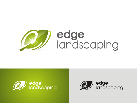 Logo Design by key - Entry No. 168 in the Logo Design Contest Inspiring Logo Design for Edge Landscaping.