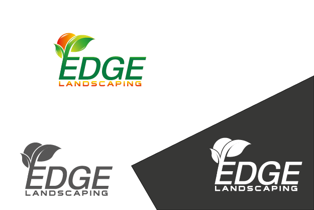 Logo Design by Private User - Entry No. 177 in the Logo Design Contest Inspiring Logo Design for Edge Landscaping.