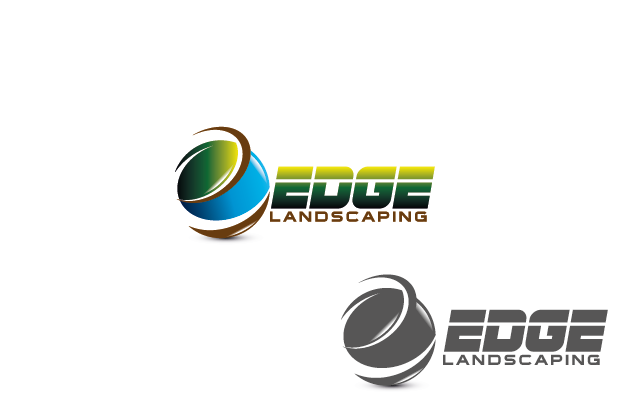 Logo Design by Private User - Entry No. 179 in the Logo Design Contest Inspiring Logo Design for Edge Landscaping.