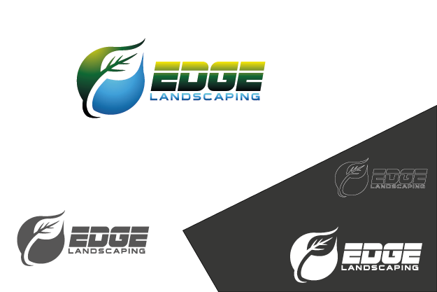 Logo Design by Private User - Entry No. 180 in the Logo Design Contest Inspiring Logo Design for Edge Landscaping.