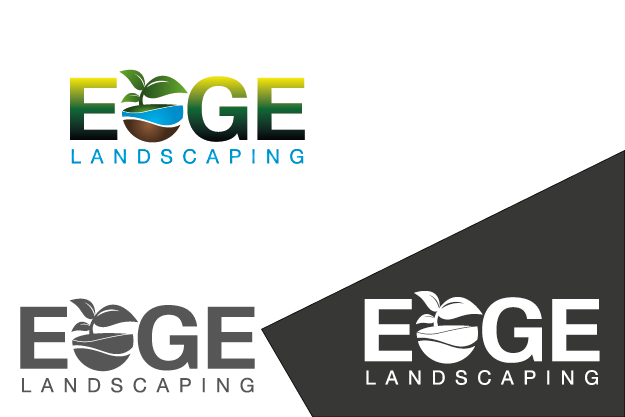 Logo Design by Private User - Entry No. 181 in the Logo Design Contest Inspiring Logo Design for Edge Landscaping.