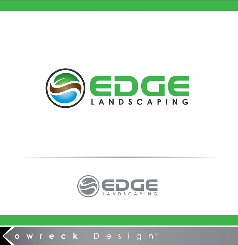 Logo Design by kowreck - Entry No. 182 in the Logo Design Contest Inspiring Logo Design for Edge Landscaping.
