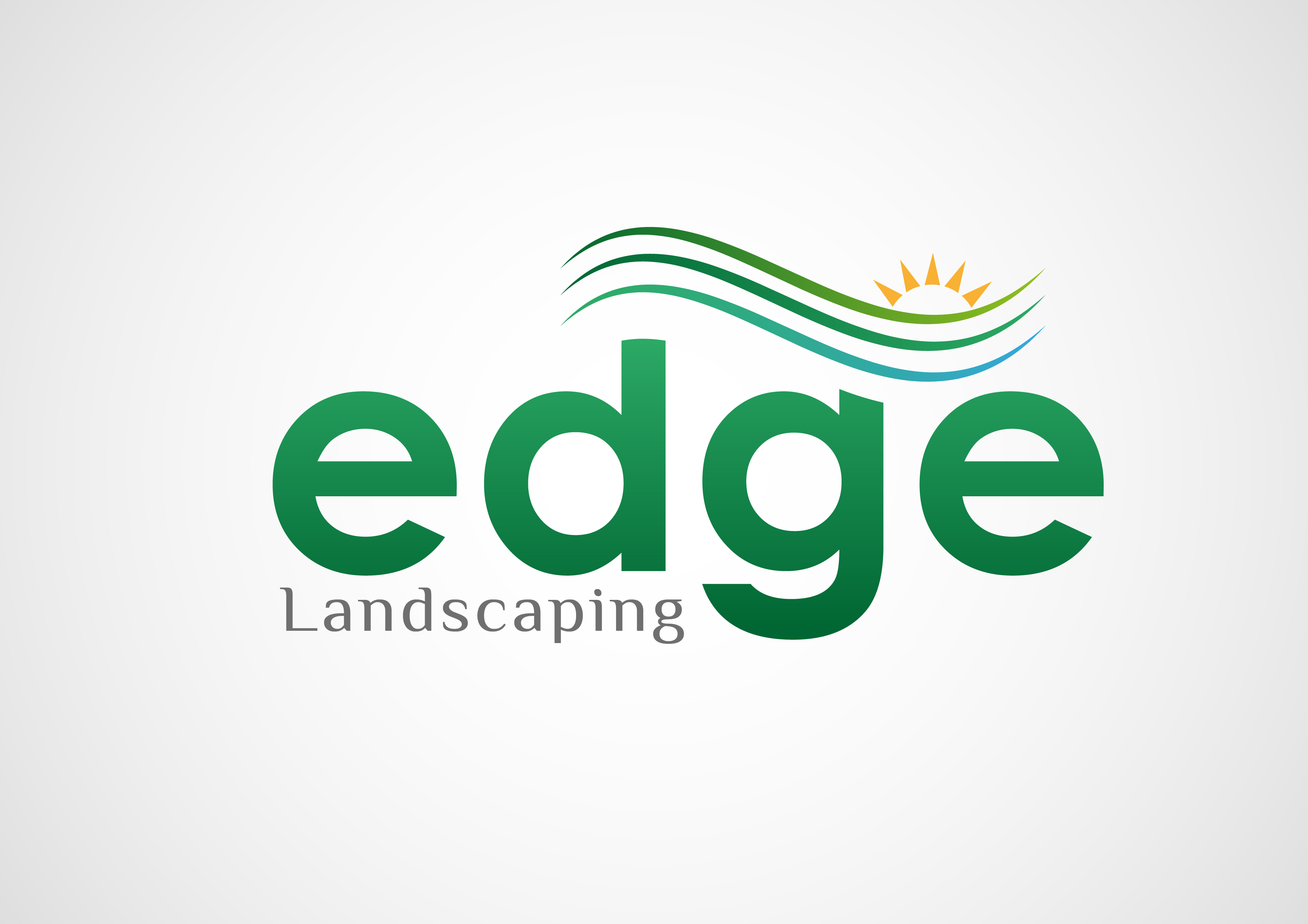 Logo Design by 3draw - Entry No. 183 in the Logo Design Contest Inspiring Logo Design for Edge Landscaping.