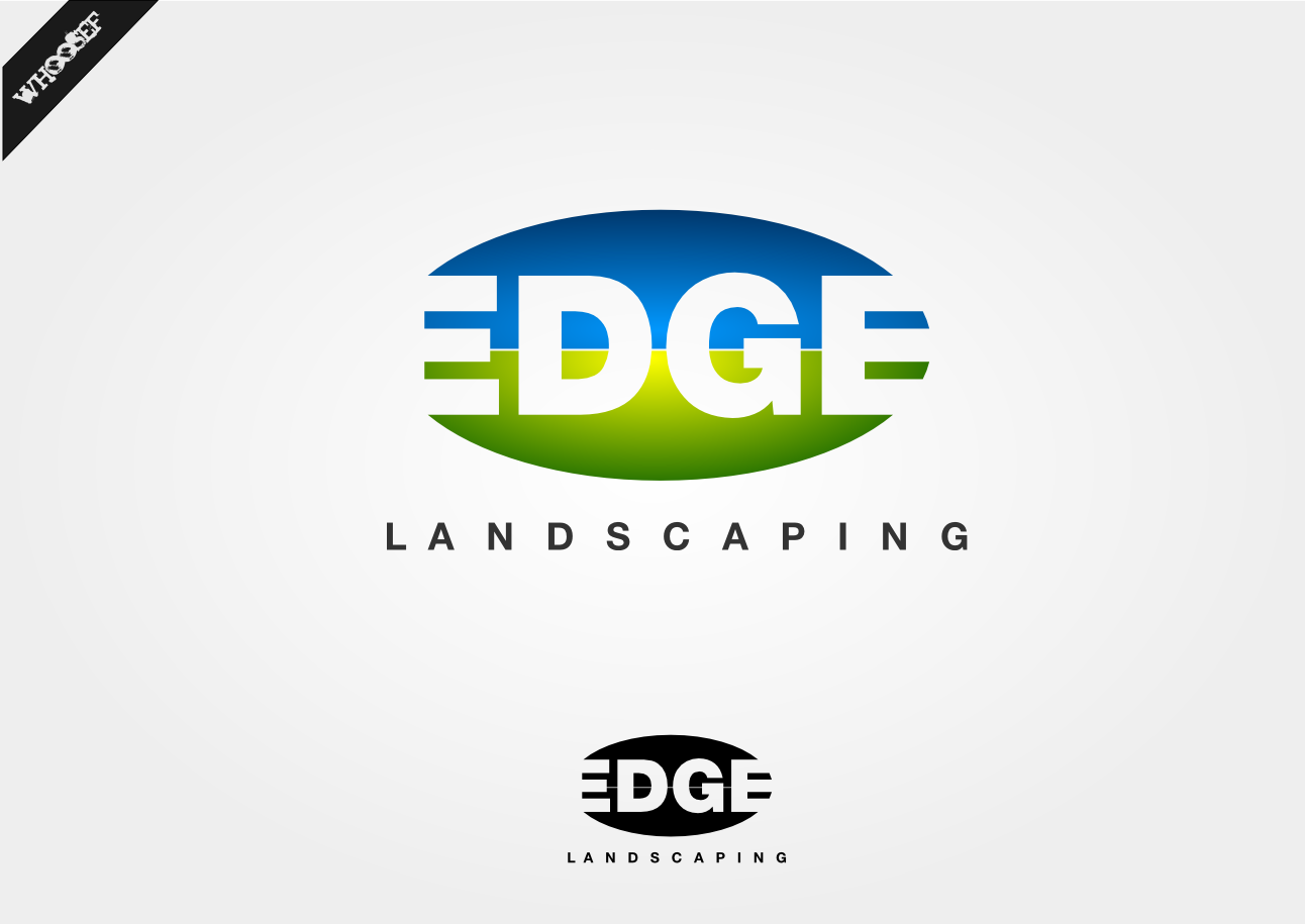 Logo Design by whoosef - Entry No. 190 in the Logo Design Contest Inspiring Logo Design for Edge Landscaping.