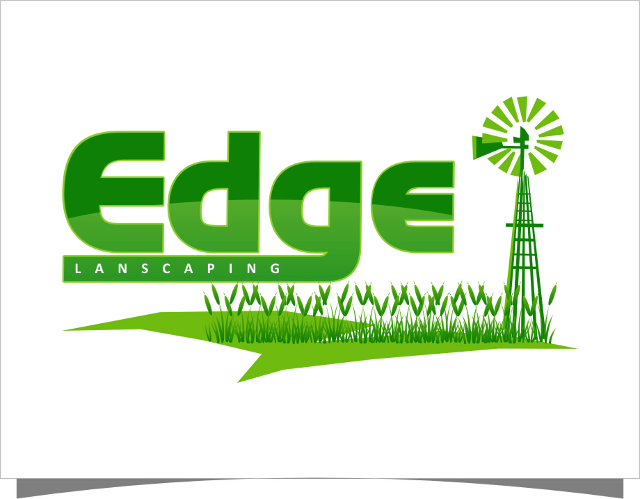 Logo Design by Ngepet_art - Entry No. 192 in the Logo Design Contest Inspiring Logo Design for Edge Landscaping.