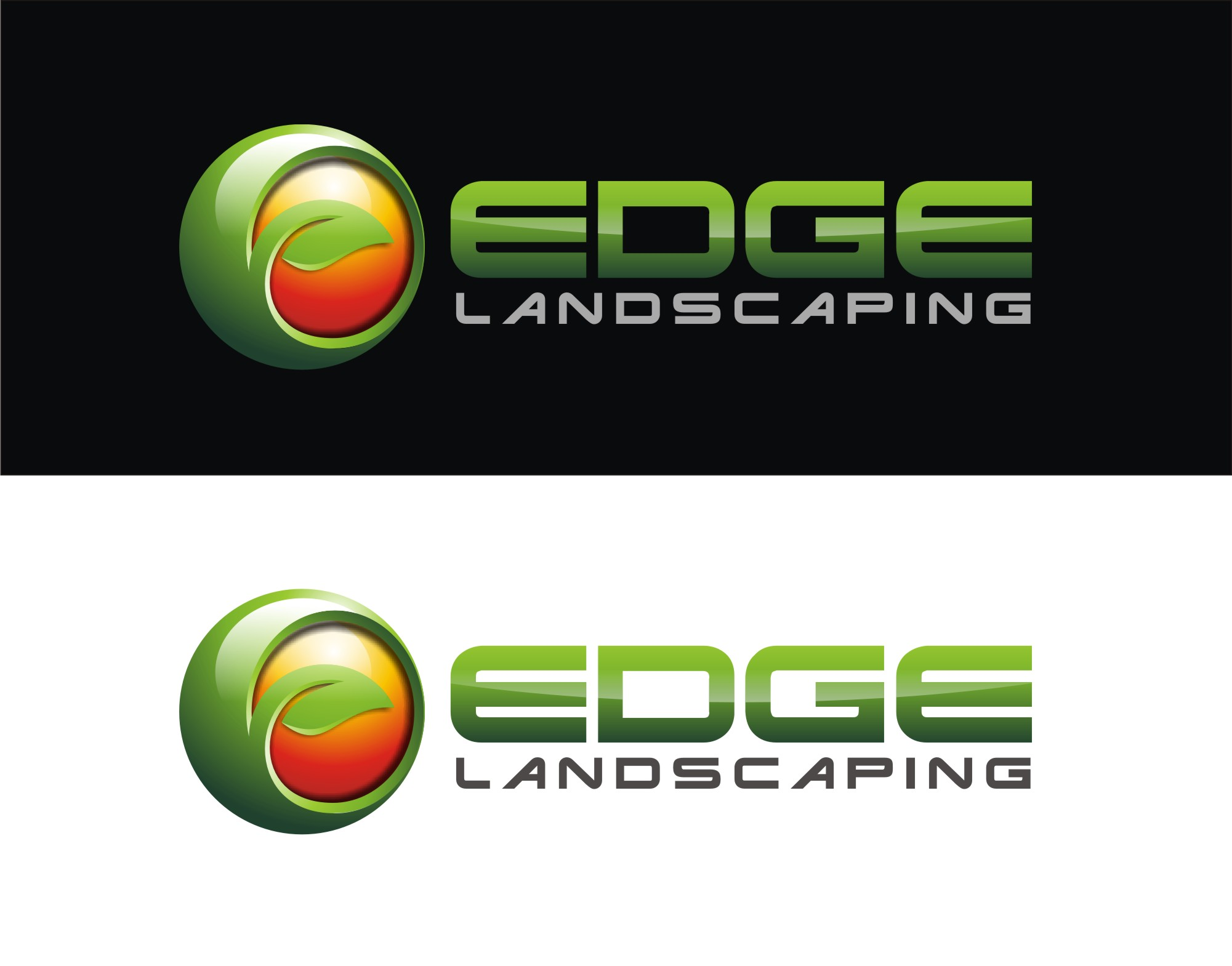 Logo Design by Reivan Ferdinan - Entry No. 194 in the Logo Design Contest Inspiring Logo Design for Edge Landscaping.