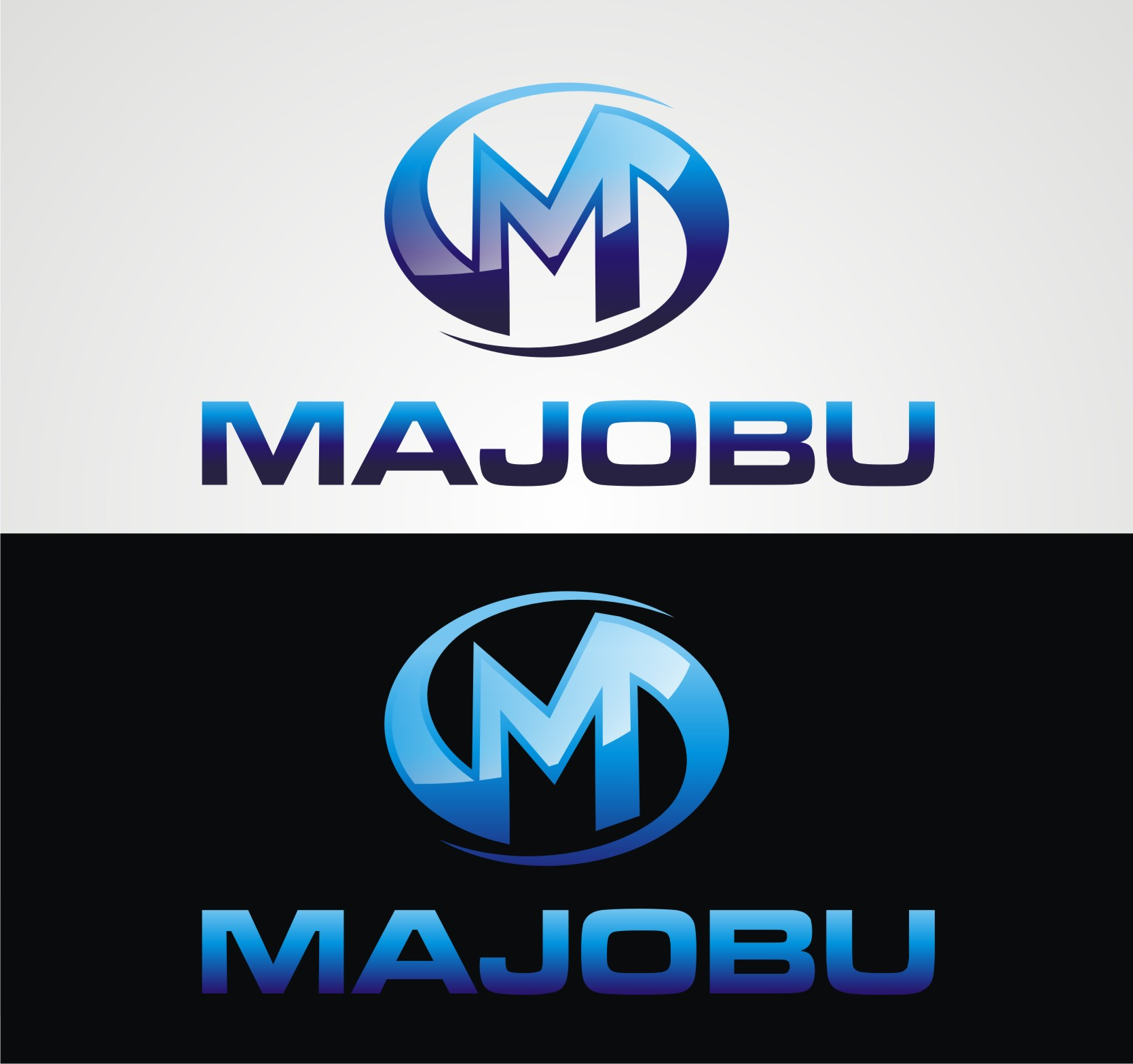 Logo Design by Reivan Ferdinan - Entry No. 45 in the Logo Design Contest Inspiring Logo Design for Majobu.