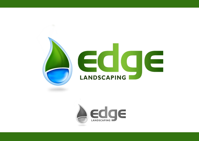 Logo Design by Respati Himawan - Entry No. 196 in the Logo Design Contest Inspiring Logo Design for Edge Landscaping.