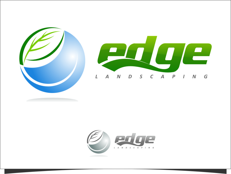 Logo Design by Ngepet_art - Entry No. 198 in the Logo Design Contest Inspiring Logo Design for Edge Landscaping.