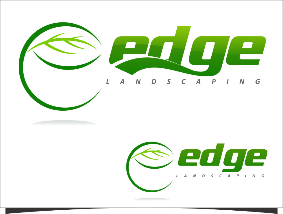 Logo Design by Ngepet_art - Entry No. 199 in the Logo Design Contest Inspiring Logo Design for Edge Landscaping.