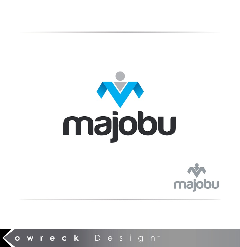 Logo Design by kowreck - Entry No. 59 in the Logo Design Contest Inspiring Logo Design for Majobu.