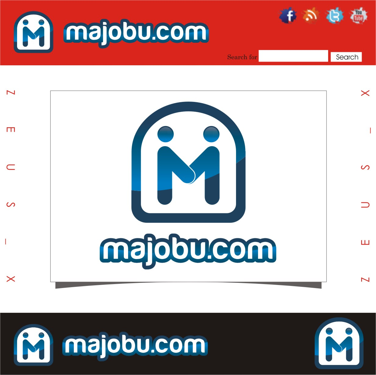 Logo Design by Ngepet_art - Entry No. 61 in the Logo Design Contest Inspiring Logo Design for Majobu.