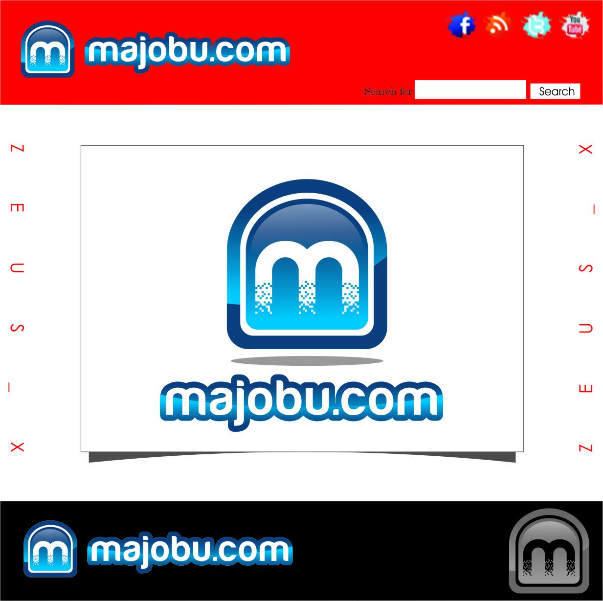 Logo Design by RasYa Muhammad Athaya - Entry No. 62 in the Logo Design Contest Inspiring Logo Design for Majobu.