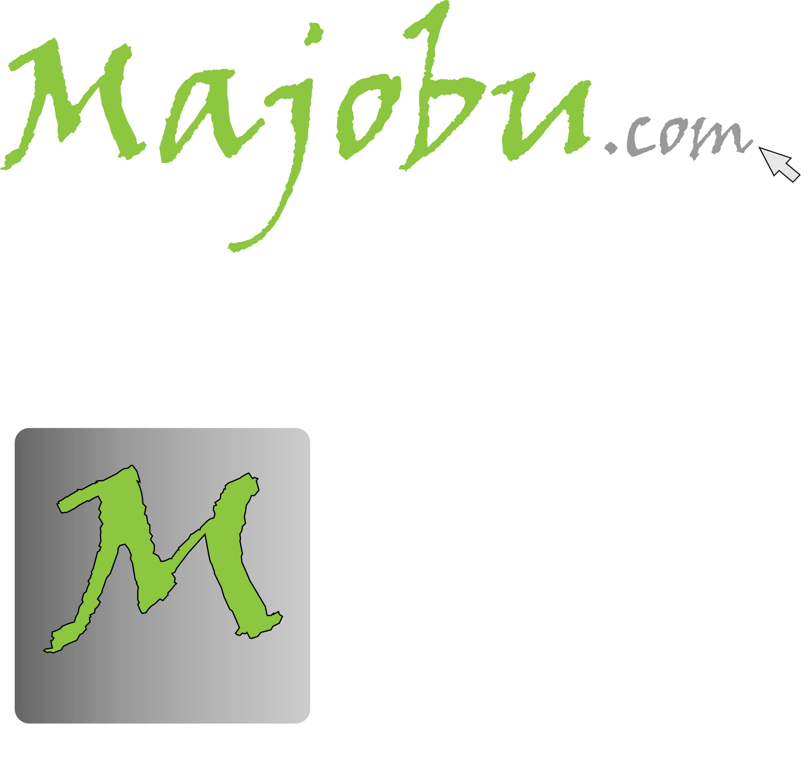 Logo Design by Andy McColm - Entry No. 64 in the Logo Design Contest Inspiring Logo Design for Majobu.