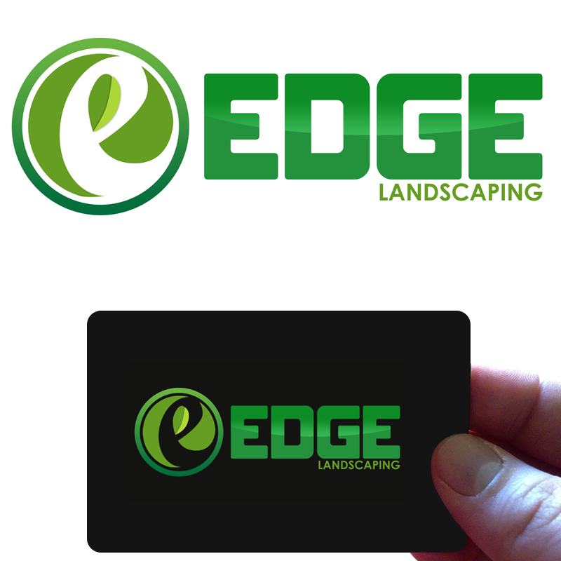 Logo Design by Private User - Entry No. 202 in the Logo Design Contest Inspiring Logo Design for Edge Landscaping.