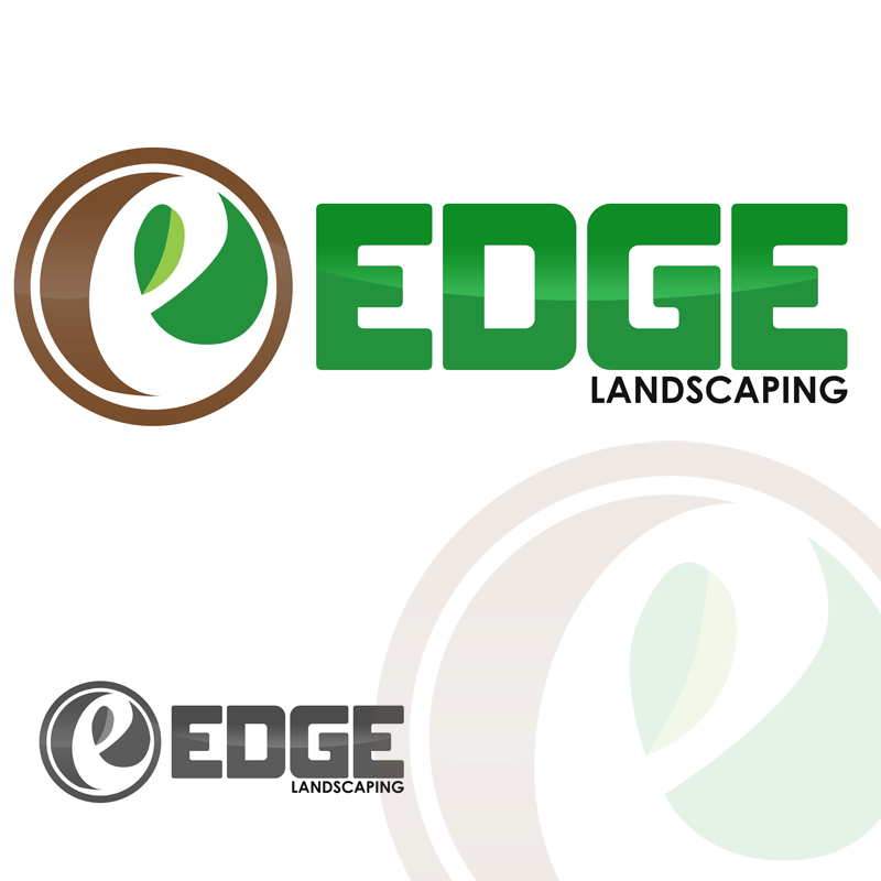 Logo Design by Private User - Entry No. 203 in the Logo Design Contest Inspiring Logo Design for Edge Landscaping.