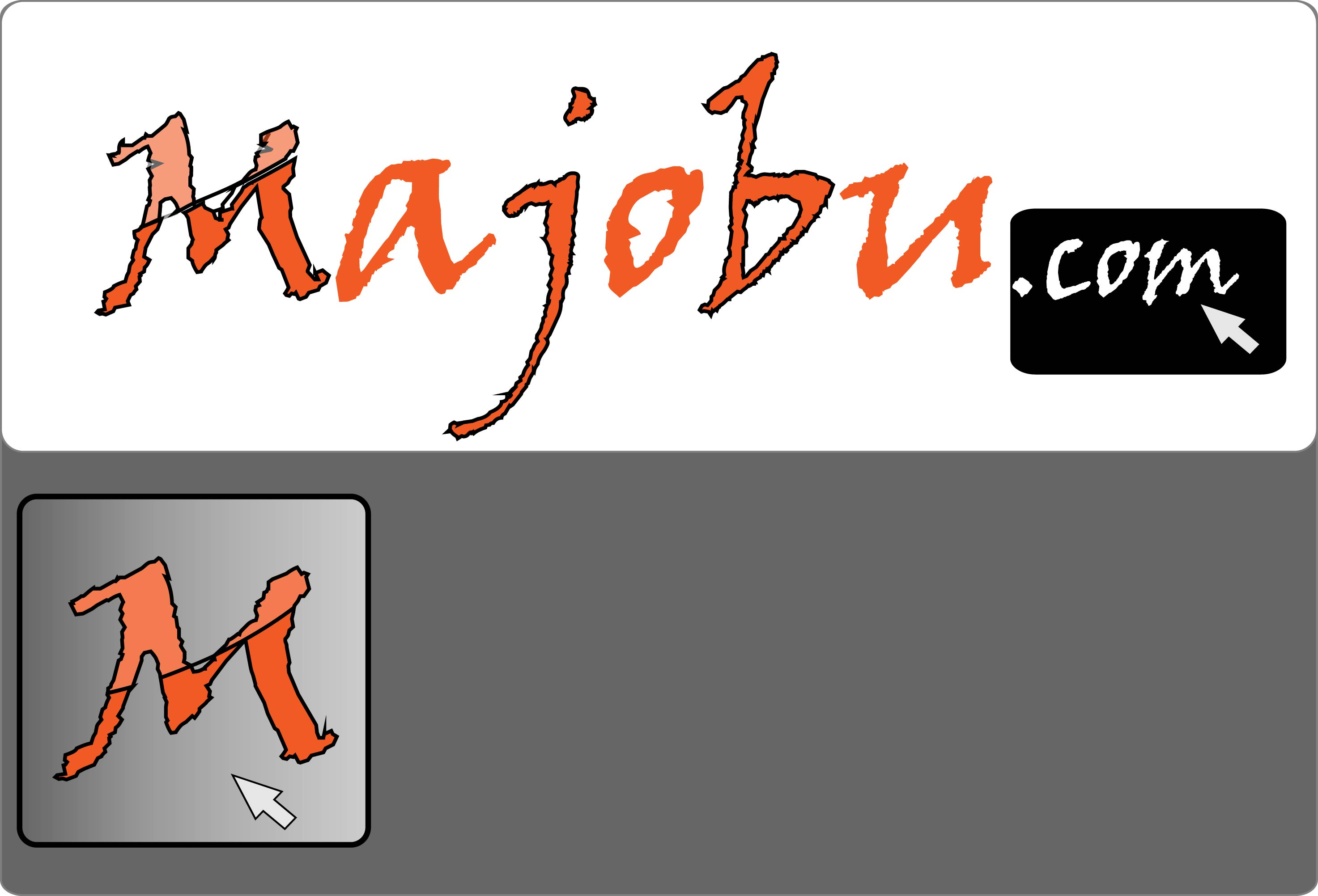 Logo Design by Andy McColm - Entry No. 65 in the Logo Design Contest Inspiring Logo Design for Majobu.