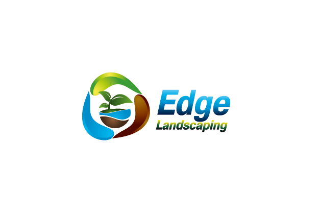 Logo Design by Private User - Entry No. 204 in the Logo Design Contest Inspiring Logo Design for Edge Landscaping.