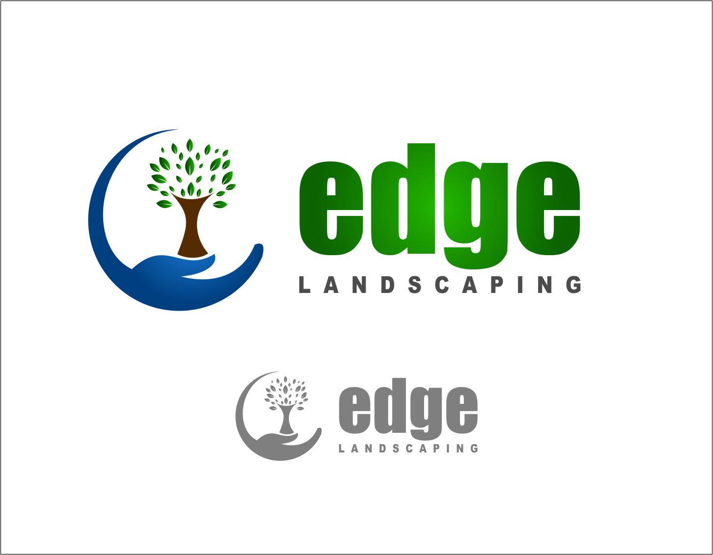Logo Design by Agus Martoyo - Entry No. 212 in the Logo Design Contest Inspiring Logo Design for Edge Landscaping.