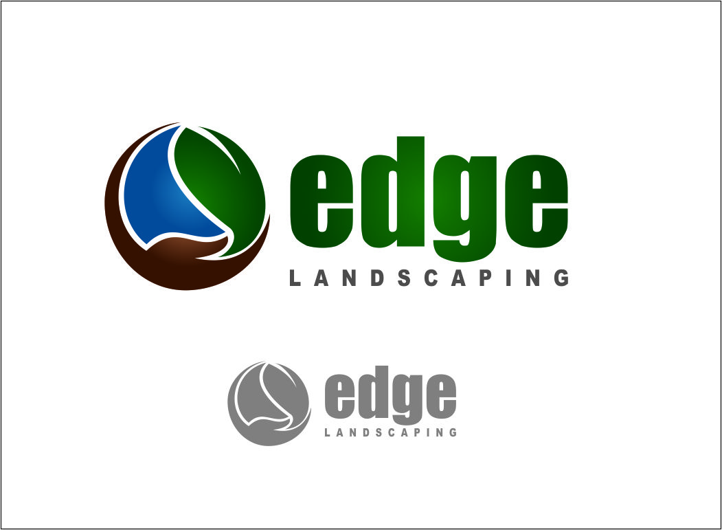 Logo Design by Agus Martoyo - Entry No. 213 in the Logo Design Contest Inspiring Logo Design for Edge Landscaping.