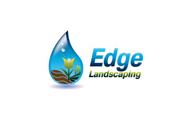 Logo Design by Private User - Entry No. 214 in the Logo Design Contest Inspiring Logo Design for Edge Landscaping.
