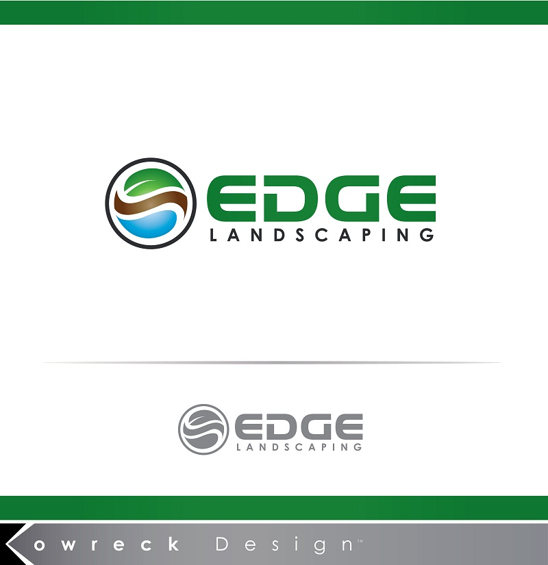 Logo Design by kowreck - Entry No. 215 in the Logo Design Contest Inspiring Logo Design for Edge Landscaping.