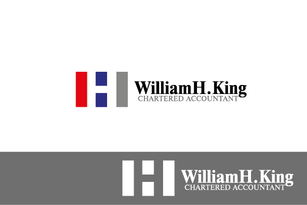 Logo Design by Private User - Entry No. 111 in the Logo Design Contest New Logo Design for William H. King, Chartered Accountant.