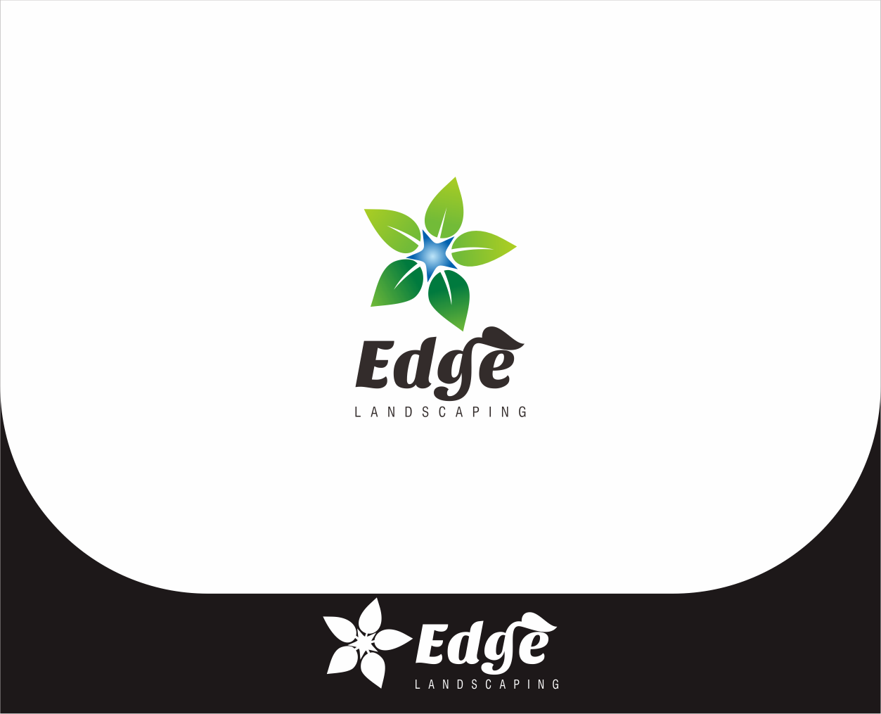 Logo Design by Armada Jamaluddin - Entry No. 217 in the Logo Design Contest Inspiring Logo Design for Edge Landscaping.