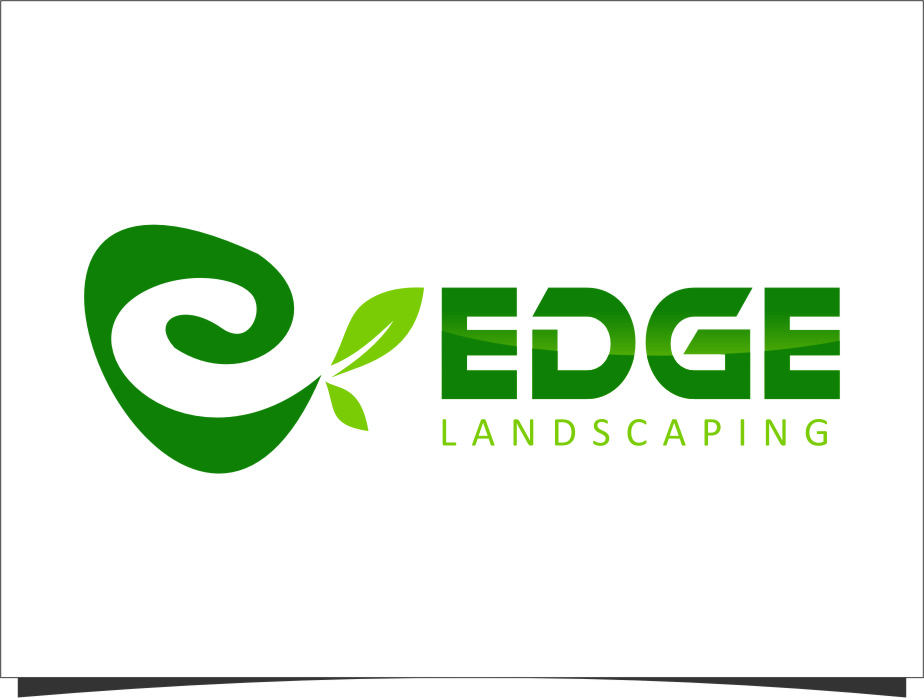 Logo Design by Ngepet_art - Entry No. 224 in the Logo Design Contest Inspiring Logo Design for Edge Landscaping.