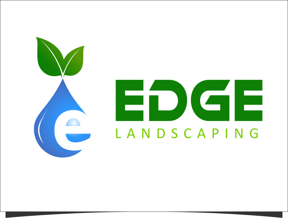 Logo Design by Ngepet_art - Entry No. 228 in the Logo Design Contest Inspiring Logo Design for Edge Landscaping.
