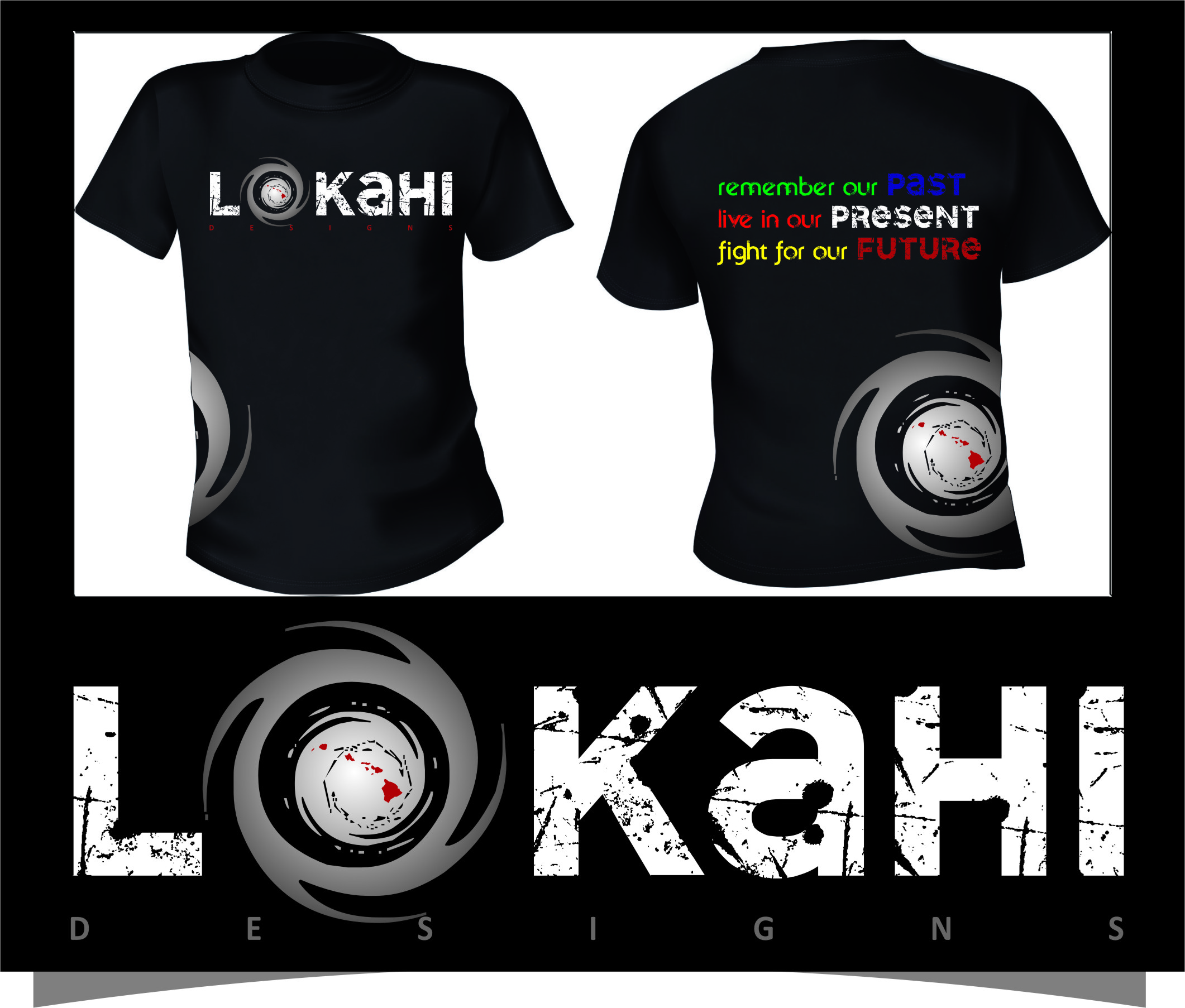 Clothing Design by Ngepet_art - Entry No. 42 in the Clothing Design Contest Creative Clothing Design for LOKAHI designs.