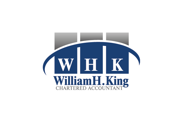 Logo Design by Private User - Entry No. 115 in the Logo Design Contest New Logo Design for William H. King, Chartered Accountant.