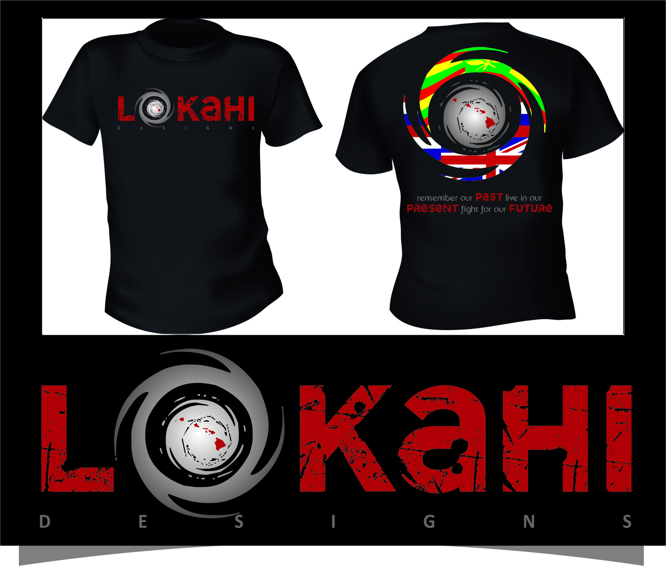 Clothing Design by Ngepet_art - Entry No. 44 in the Clothing Design Contest Creative Clothing Design for LOKAHI designs.