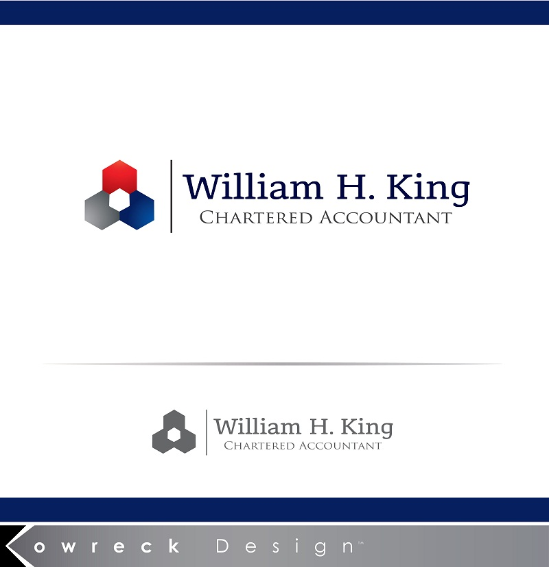 Logo Design by kowreck - Entry No. 124 in the Logo Design Contest New Logo Design for William H. King, Chartered Accountant.