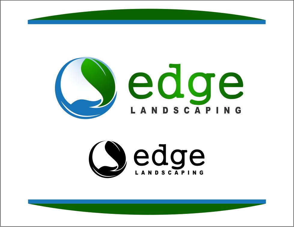 Logo Design by Agus Martoyo - Entry No. 237 in the Logo Design Contest Inspiring Logo Design for Edge Landscaping.