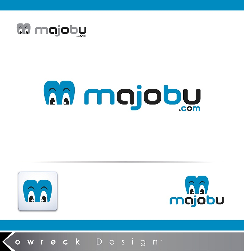 Logo Design by kowreck - Entry No. 79 in the Logo Design Contest Inspiring Logo Design for Majobu.
