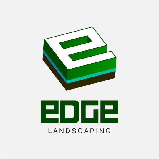 Logo Design by Top Elite - Entry No. 238 in the Logo Design Contest Inspiring Logo Design for Edge Landscaping.