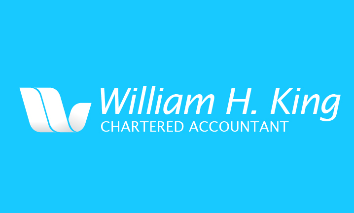 Logo Design by Top Elite - Entry No. 131 in the Logo Design Contest New Logo Design for William H. King, Chartered Accountant.